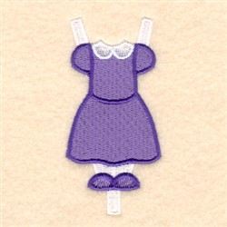 Lucys Sunday Outfit embroidery design
