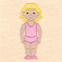 Lucy embroidery design