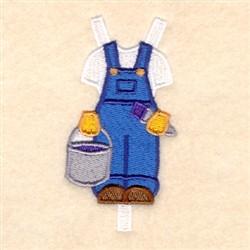 Bens Painting Uniform embroidery design