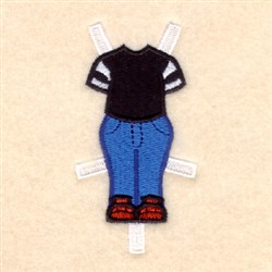 Bens Everyday Outfit embroidery design