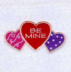 Be Mine Sugar Cookies embroidery design