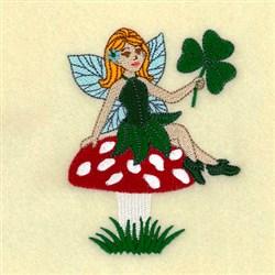Mushroom Fairy embroidery design