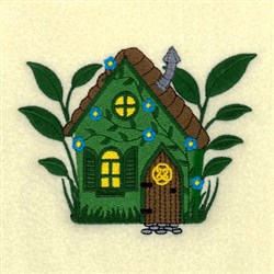 Fairy Cottage embroidery design