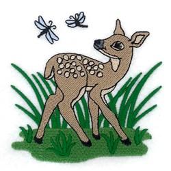 Spring Deer embroidery design