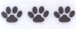 Cat Paws Pocket Topper embroidery design