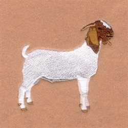 Boer Goat embroidery design