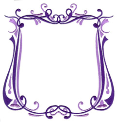 Fancy Border embroidery design
