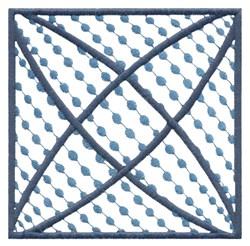 Dot Square embroidery design