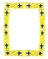 Knotted Border embroidery design