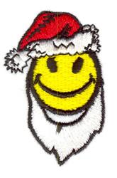 Happy Face Santa embroidery design
