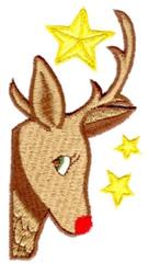Rudolph Corner embroidery design