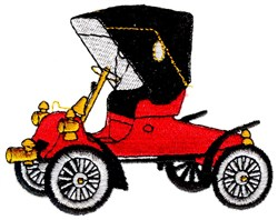 1903 Ford Model A embroidery design