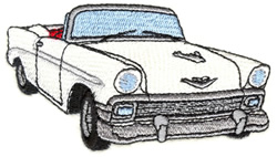 1956  Bel Air embroidery design
