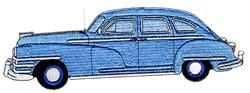 48 Chrysler embroidery design