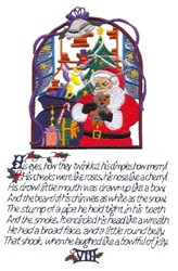 Twas The Night Before Christmas page 8 embroidery design