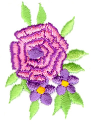 Flower Cluster embroidery design