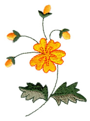 Posy Flower embroidery design
