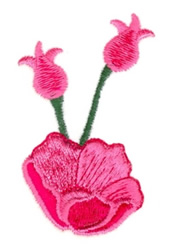 Carnations embroidery design