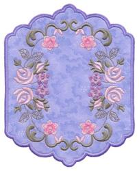 Floral Bouquet Applique embroidery design