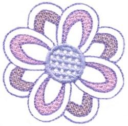 Medium Flower embroidery design
