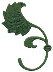 Gaillardia Leaf embroidery design