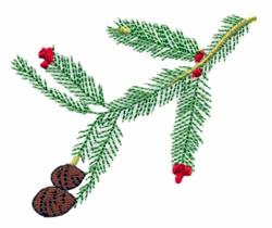 California - Redwood embroidery design