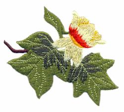 Kentucky  - Yellow Poplar embroidery design