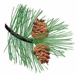 Montana - Ponderosa Pine embroidery design