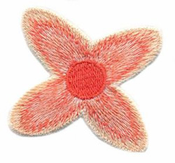 3-D Clematis Petals embroidery design