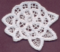 Flower - Italian Lace embroidery design
