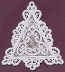 Lace Triangle embroidery design