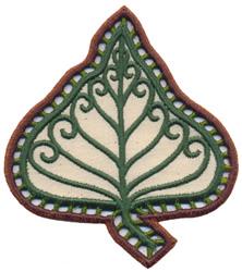 Poplar Leaf embroidery design