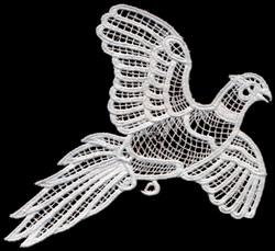 Italian Lace Pheasant embroidery design