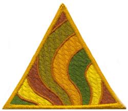 Rainbow Swirls embroidery design
