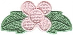 Single Posey embroidery design