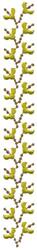 Leaf Pattern embroidery design