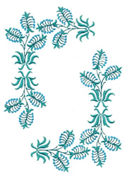 Summer Garden Blossoms embroidery design