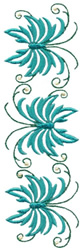 Summer Leaves embroidery design