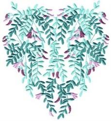 Honey Locust Flowers embroidery design