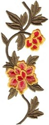 Floral Vine embroidery design