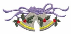 Large Bells embroidery design