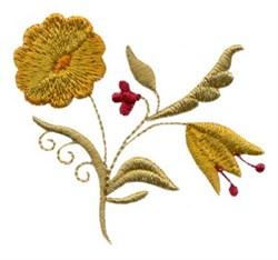 Floral Sprig embroidery design