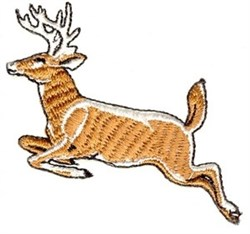 Leaping Deer embroidery design