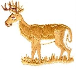 Peaceful Deer embroidery design