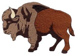 Buffalo Profile embroidery design
