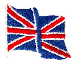 Union Jack Flag embroidery design