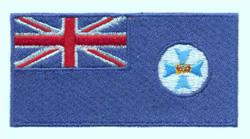 Queensland Flag embroidery design