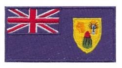 Turks & Caicos Flag embroidery design