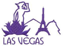 Skylines ( Las Vegas ) embroidery design