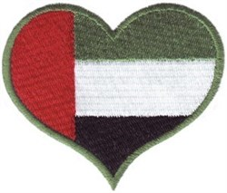 United Arab Emirates embroidery design